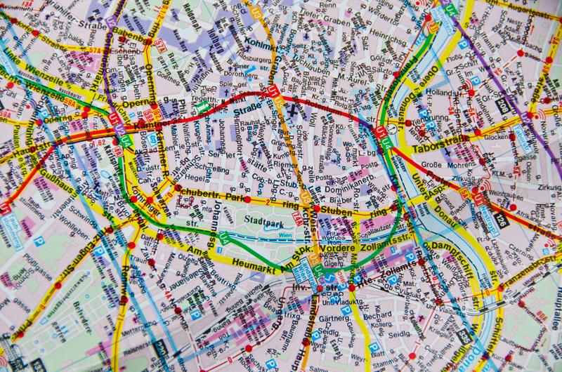 mapa i w drogę :)
